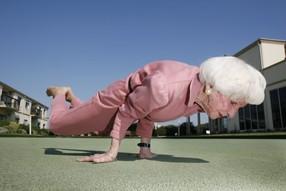 Несколько правил крепкого здоровья для престарелых людей