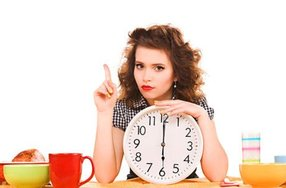 Парвильное питание по часам