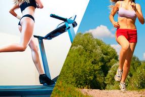 В чем разница между пробежкой на беговой дорожке и по лесу?
